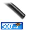 TUBING, PUR, 1/4 IN OD, BLACK, 500 FT REEL -- PU14BLK500