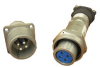 Cylindrical, Machined Aluminum, Double Lead Acme Threaded Coupling -- Neptune® Rugged