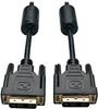 DVI Single Link Cable, Digital TMDS Monitor Cable (DVI-D M/M), 6-ft. -- P561-006 -- View Larger Image