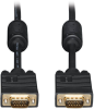 VGA Coaxial High-Resolution Monitor Cable with RGB Coaxial (HD15 M/M), 2048 x 1536 (1080p), 30 ft. -- P502-030