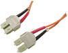 3 Meter Fiber Optic Cable, Duplex SC-SC -- 43-186