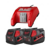 Milwaukee Battery & Charger 18 Volt Multi-Pack 48-11-1833 -- 48-11-1833