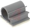 Clamp; Adhesive; 1 in.; 1 in.; 1/16 in.; 3/4 in.; Gray -- 70209014 - Image