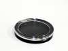 Round Compact with clear top -- 499PE-HF137