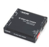 Media Converter Network Interface Device - (2) 10-/100-/1000-Mbps Copper to (2) SFP Copper/Fiber -- LGC340A
