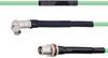 Temperature Conditioned Low Loss RA SMA Male to TNC Female Bulkhead Cable LL142 Coax in 200 cm -- FMHR0154-200CM -- View Larger Image