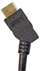High Speed HDMI® Cable with Ethernet, Male/ 45 Degree Angle Male, Left Exit 1.0 M -- HDCA453MM-1 - Image