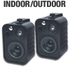 TIC Corporation ASP25-B Indoor/Outdoor Speakers - 4.25