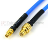 SMP Female to Mini SMP Female Cable RG-405 Coax in 6 Inch and RoHS -- SCA65086-06 -Image