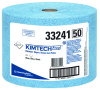 Kimberly-Clark Kimtech Blue Polypropylene 717 Wipe - Roll - 717 sheets per roll - 13.4 in Overall Length - 33241 -- 036000-33241