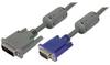 Premium DVI-A Male DVI Cable / HD15 Male w/ Ferrites, 3.0 ft -- MDA00020-3F -Image