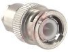 connector,rf coaxial,bnc straight plug,clamp/solder,for rg178,196 cable,50 ohm -- 70142981