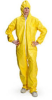 Brady Yellow Chemical-Resistant Coveralls - 662706-83541 -- 662706-83541