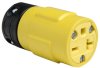 Rubber Housing Connector, Yellow -- 1548