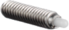 Light End Force Standard Spring Plungers - Stainless Steel w/Delrin® Nose -- SSSD53 - Image