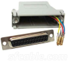 DB25 Female to RJ12 Modular Adapter -- 31D3-A2