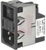 power entry module with filter 2 pole -- 70080825