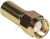 connector,rf coaxial,sma str plug,crimp/solder,captive cont,for rg58,50 ohm -- 70142750