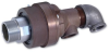 857 Series Duoflow Water Rotating Union Rotary Joints -- 857-001-101