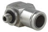 Push-To-Connect Adjustable Elbow Fitting for 1/4