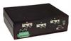 L-com Single mode ST Fiber A/B Switch w/Ethernet Control - Non-Latching