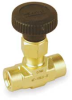 Needle Valve,1/4 In,Brass,FNPT -- 2KLC7