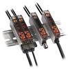 DIN Rail DIN Mtg Fiber Optic Sensor -- 45FVL-3LHE-C4 -Image