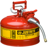 3 Gallon Type II Steel Flammable Liquid Safety Can -- CAN10728-RED