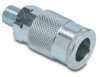 Air Coupling: quick-disconnect, steel, 3/8in ID 1/4in male NPT -- HC38-14M-A -- View Larger Image
