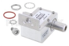 Type N F/F In/Out Coax RF Surge Protector, 800MHz - 2.5GHz, DC Pass, 300W, IP67, 20kA, Hybrid, Bracket Away from Arrestor -- PE73SP1013 -Image