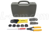 Coaxial Crimp Kit with 5 Dies, Crimp Frame, Carrying Case -- HT-KIT-01 - Image