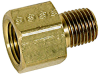 Brass Adapter 1/2 in or 3/4 in FPT x 1/2 in MPT Select Size -- VM-140658x - Image