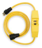 Cord Set, In-line GFCI,120V, 15 Amps AC -- 2XYR4 - Image