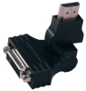 QVS Premium HDMI Male to DVI Female Swivel Adapter -- HDVIA-MF