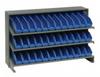 Bins & Systems - 4'' Shelf Bins (QSB Series) - Sloped Shelving Units - Bench Racks - QPRHA-100 - Image
