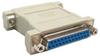 DB25 F/F Null Modem Adapter -- 30D3-B3