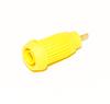 Front mount 4mm Banana Jack, Crimp Terminal -- BU-31604-@ - Image