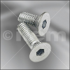 Countersunk Screw DIN 7991 M5x10 -- 8.0.001.84 - Image