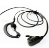 I-301 G Shape Earhook Microphone with PTT. for ICOM Radios w/angle connector for IC-F3GT IC-F3GS IC- -- I-301