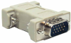 HD15 M/M Molded Gender Changer for PC (Coupler) -- 10GC-C1 -- View Larger Image