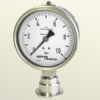 Pressure Gauge with Integral Restrictor