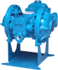 Diaphragm Pumps with Ball Check -- HDB Metallic Pumps - Air Operated - Image