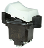 TP Series Rocker Switch, 2 pole, 2 position, Screw terminal, Flush Panel Mounting -- 2TP201-3 -Image