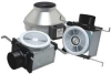 Inline Bath Fan,270 CFM,120V -- PB270H-2