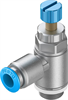 GRLA-1/4-QS-6-RS-D One-way flow control valve -- 534338