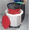 PIG Waste Fluid Collection System Red 70 gal., 32.81