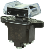 TP Series Rocker Switch, 2 pole, 3 position, Screw terminal, Above Panel Mounting -- 2TP4-1 -Image