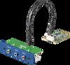 3-Port Audio Stereo, mPCIe, 3.5 mm Jack -- PCM-27J3AU