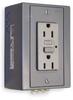 Din Rail Utility Box,15A,GFCI,Gray -- 1DNV5