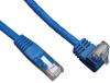 Cat6 Gigabit Molded Patch Cable (RJ45 Right Angle Up M to RJ45 M) Blue, 5-ft. -- N204-005-BL-UP